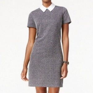 T O M M Y  H I L F I G E R  Grey Baby Collar Dress